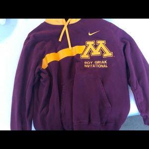 University of Minnesota Nike Hoodie - Size Medium